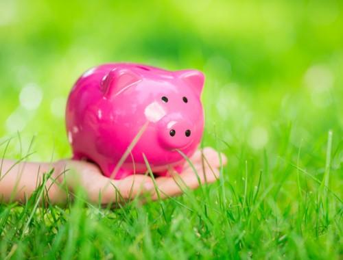 besparen in de lente
