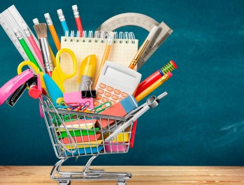 Besparen op schoolspullen