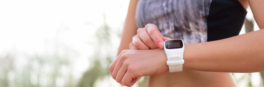 wearables gebruiken om te fitnessen