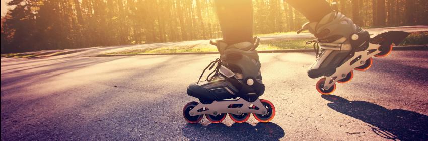 rolschaatsen sporten calorieën verbranden