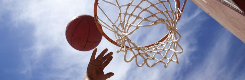 calorieën verbranden basket