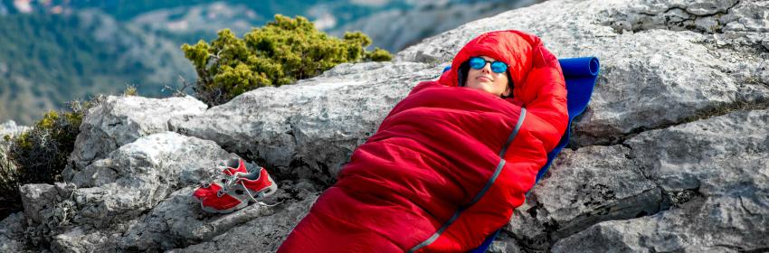kamperen trekking slaapzak