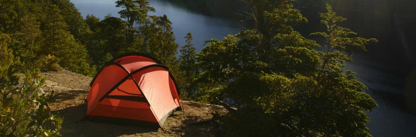 kamperen trekking tent