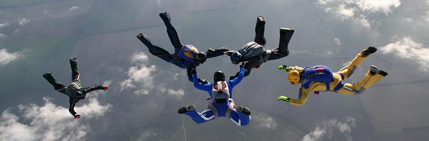 Skydiving cadeaubon