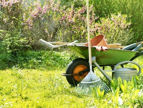 gereedschap voor tuin