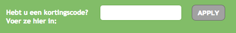 kortingscode Biggreensmile