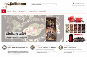 Webshop De Koffieboon