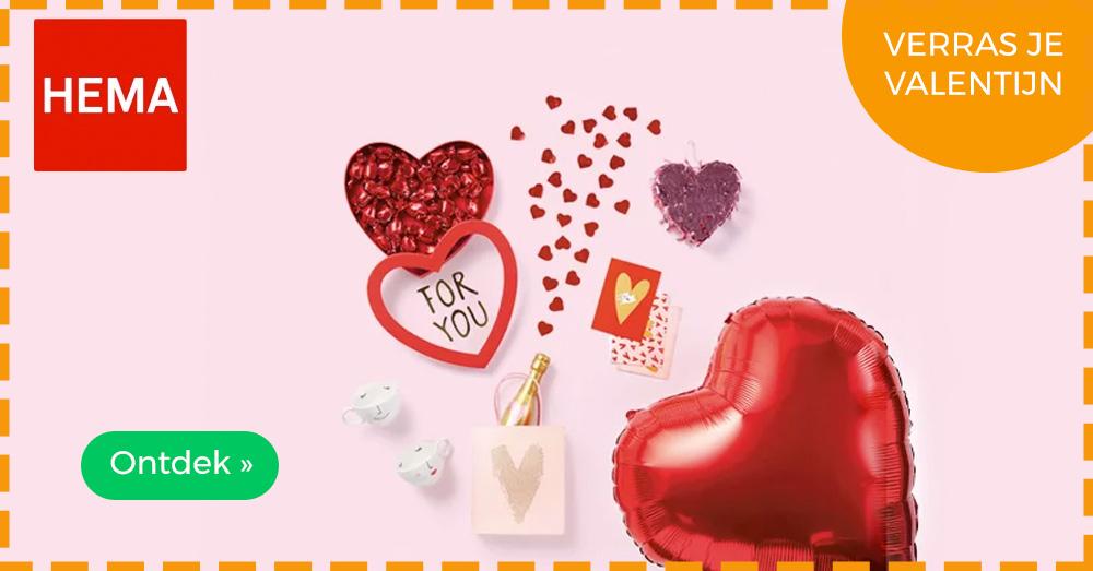 HEMA valentijn