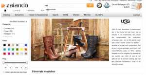 UGGs kan je ook bij Zalando kopen