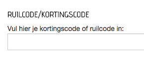 Verkleedklerenonline kortingscode