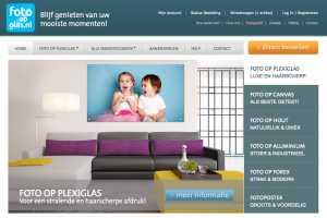 Webshop FotoOpGlas.nl