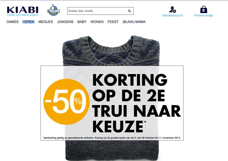 Online coupons belgie
