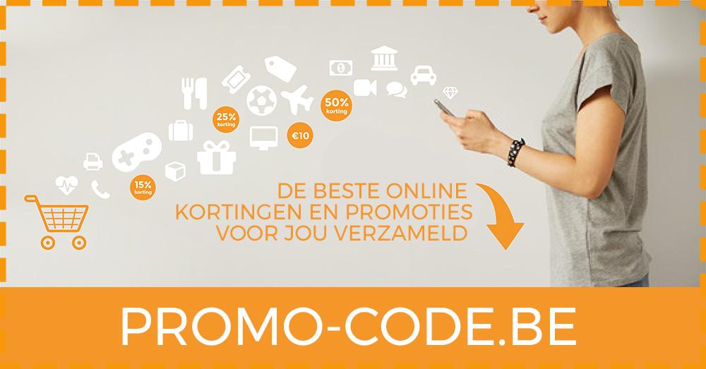 6ee28d26019 Promo-Code.be - Promocodes, kortingscodes, promoties en acties van de beste  webshops!