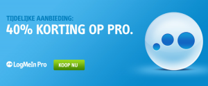 Ontdek nu de Log me in promo code
