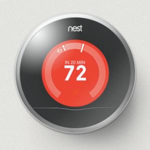 Verwarming aan? Dan ziet het scherm rood van je Nest.