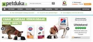 webshop Petduka.nl