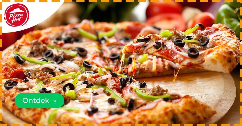 korting Pizza Hut