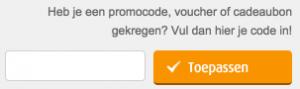 Pas een Printconcept promocode toe