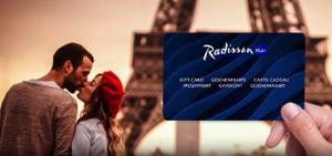 Giftcard Radisson Blu