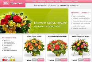 123 bloemen webshop