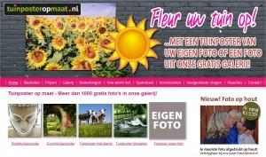tuinposter op maat webshop