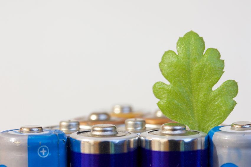 Besparen-op-batterijen
