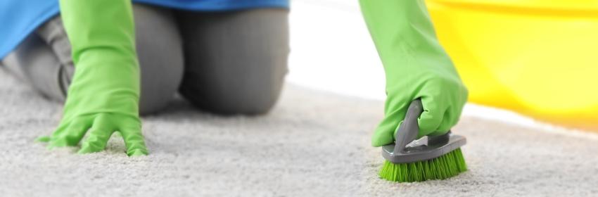 tapijt reinigen lenteschoonmaak