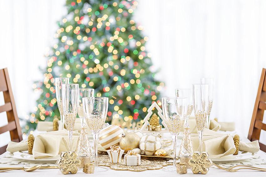 geslaagd kerstdiner