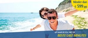 Last Minutes voor zomer 2012